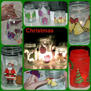 Christmas Luminaries on ofamilyblog