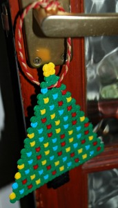 Christmas tree Hama Bead decoration