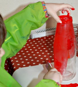 Painting our bottles