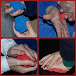Skwooshi can be used like playdough