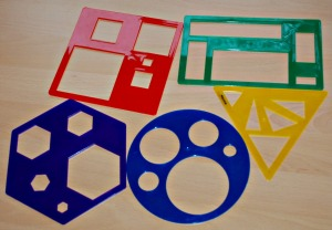 Learning resources shape stencils