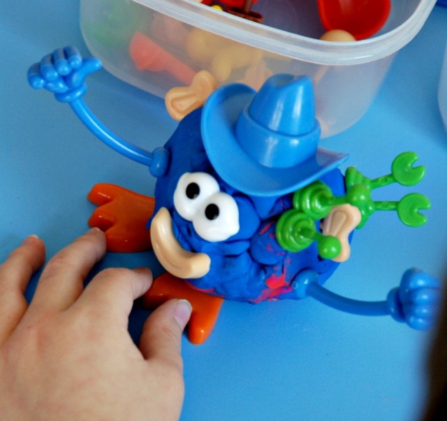 Body part set for play dough. Lots of fun for kids.