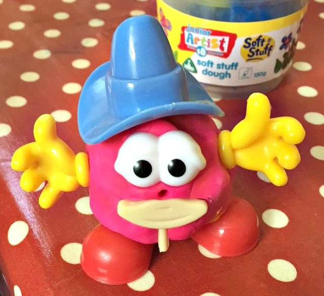 Play dough body part set. Lots of fun for children