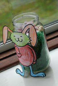 Easter bunny Jar