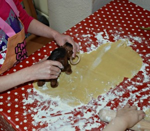 Baking - making our animal fooprints
