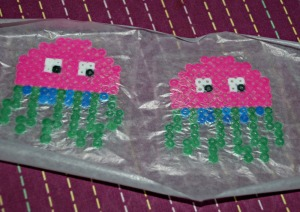 Fuse bead set ironing the creatures