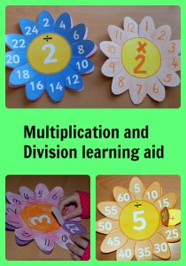 Multiplication and division learning aid