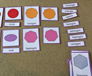 shape 3 part cards