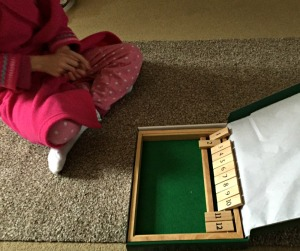 shut the box Playing against the game