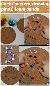 cork-coasters-drawing-pins-and-loom-bands-a-great-screen-free-activity-for-young-kids-perfect-for-working-on-fine-motor-skills