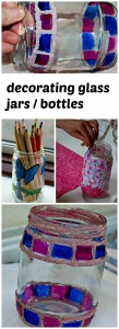 decorating-glass-jars-and-glass-bottles-craft-activity-for-young-children