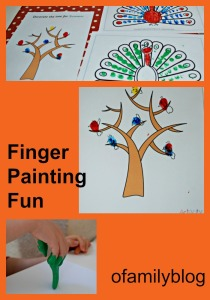 Finger Painting fun. Using colouring pages from activity village as templates, playing with paint and adding some details with our felt tip pens. ofamilyblog