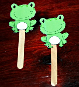Frogs from activity village