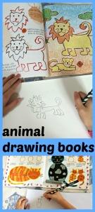 animal drawing books
