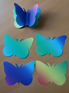 rainbow butterflies rainbow butterflies