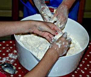 baking a great sensory activity