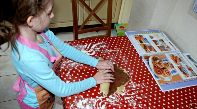 One of our Home-ed essentials is a good quality wipe clean table cloth