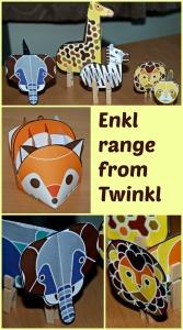 Enkl range from Twinkl website. Fun craft part of their premium package