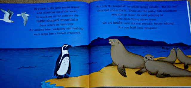 The Brave Little Penguin inside page
