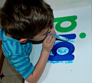 Using the blow markers