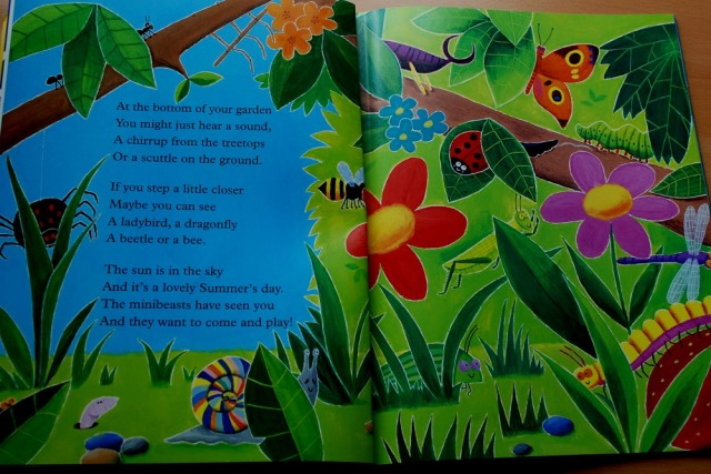 Mad about Minibeasts by Giles Andreae & David Wojtowycz great book for young kids