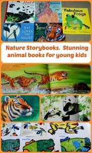 Nature Storybooks.  A stunning range of children's book which teach young children about animals.