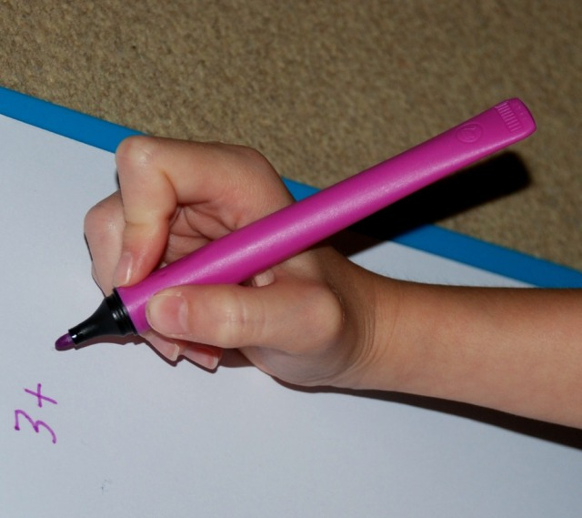 STABILO cappi pens easy for the kids to get the pencil grip correct
