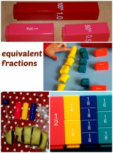 equivalent-fractions-using-fraction-towers-cookie-dough-and-play-dough