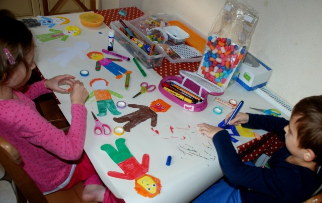 crafting-at-the-kitchen-table