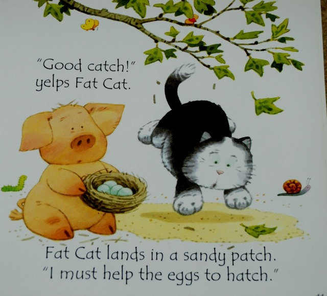 Fat Cat on a Mat and other tales. Usborne Phonic stories