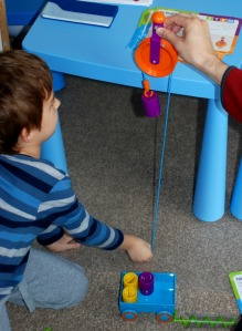 Simple Machine Activity Set from Learning Resources in action