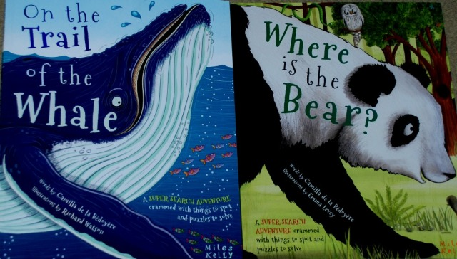 on-the-trail-of-the-whale-and-where-is-the-bear-books-from-miles-kelley