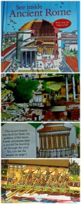 Usborne See Inside Ancient Rome,  Great children's book all about the Roman way of life