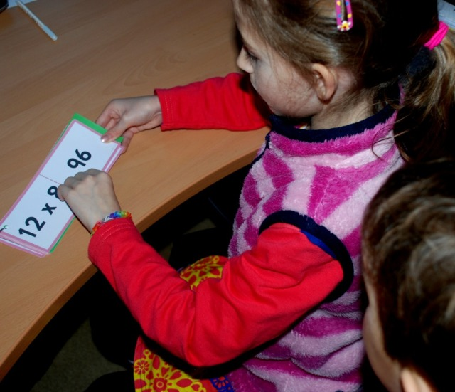 A simple times table booklet for home learning