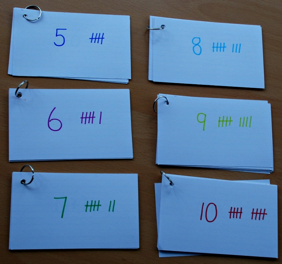 Home-made Split Ring Number Bond Booklets