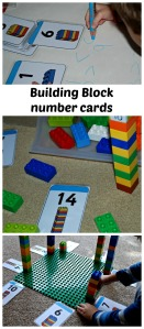 Twinkl building block number cards