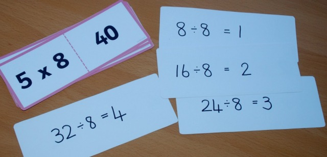 writing-the-division-sums-on-the-reverse-side-of-the-times-table-folding-cards