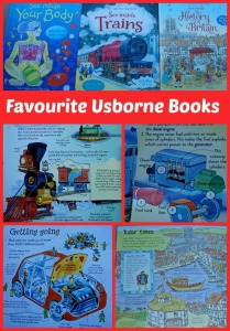 Favourite Usborne Flap Books
