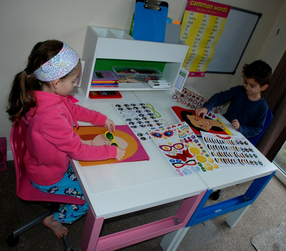 Kids Ikea Desks Ofamily Learning Together