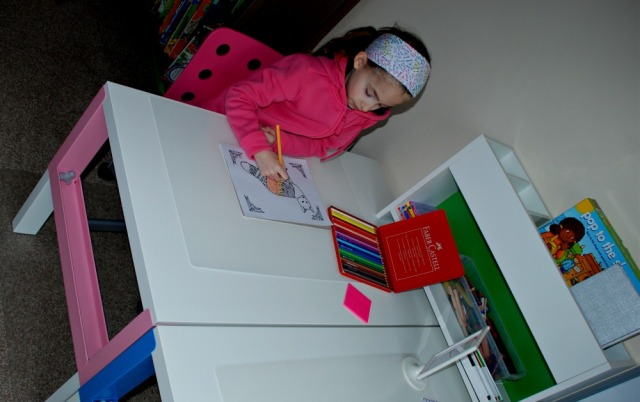 IKEA Desks Pahl range great for home learning activities