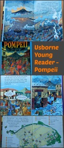 Usborne Young Reader Pompeii. A brilliant historical reader for young children