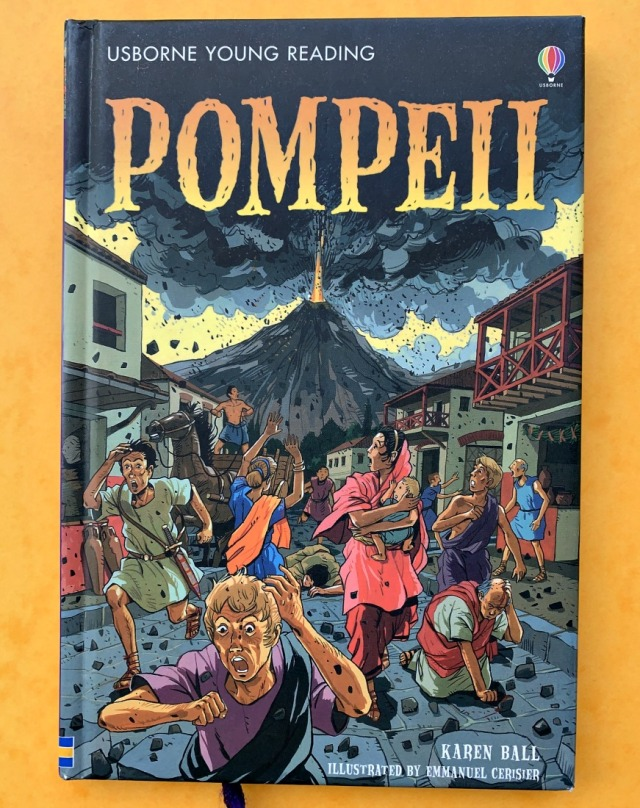 Usborne Young Reader Pompeii. Great for history and volcano topics