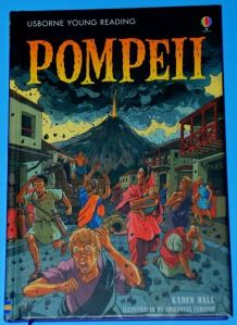 Usborne Young Reading series - Pompeii. A great historical reader for young children