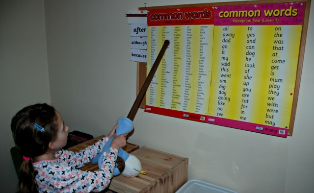 Common Word posters can be interactive and fun if you include some games