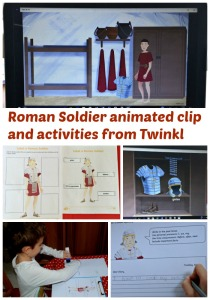 Roman Soldier animated clip and activities from Twinkl. Brilliant historical resources for Ancient Roman unit