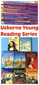 Usborne Young Reading Series includes lots of brilliant historical books for children to read