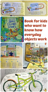 Usborne See Inside How THings work.  Book for children who want to know how everyday objects work