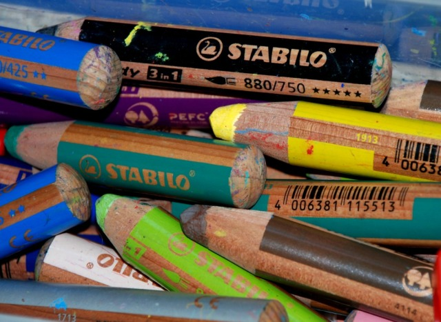 STABILO 3-in-1 pencils. Our favourite pencil for younger children