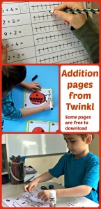Addition pages from the Twinkl Resources website. Great for home educating families. Some pages are free to download