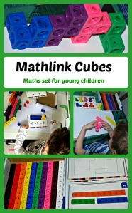 Mathlink Cubes A Maths set for younger children which helps them understand some basic maths principles